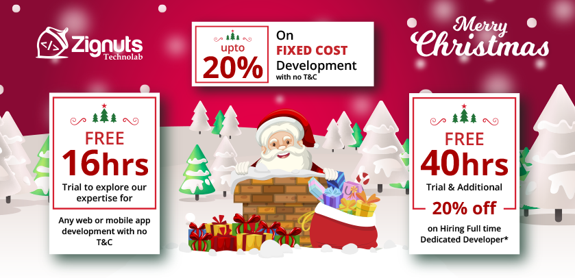 Unlock Exclusive Discounts On This Christmas and New Year For Web & Mobile App Development Services